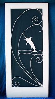 sailfish screen door insert